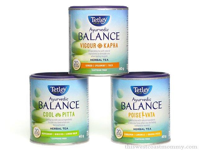 Tetley Ayurvedic Balance tea