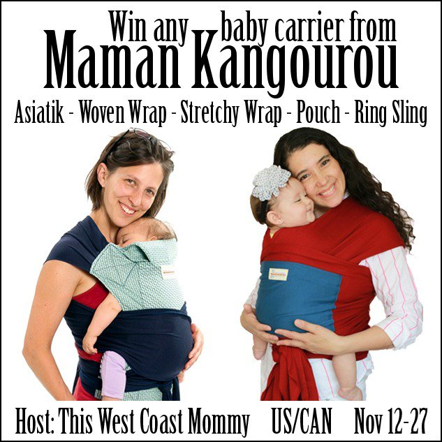 Maman Kangourou Baby Carrier Giveaway