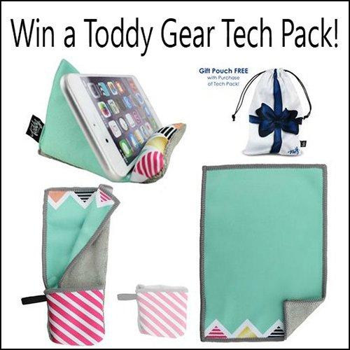 Win a Toddy Gear Tech Pack