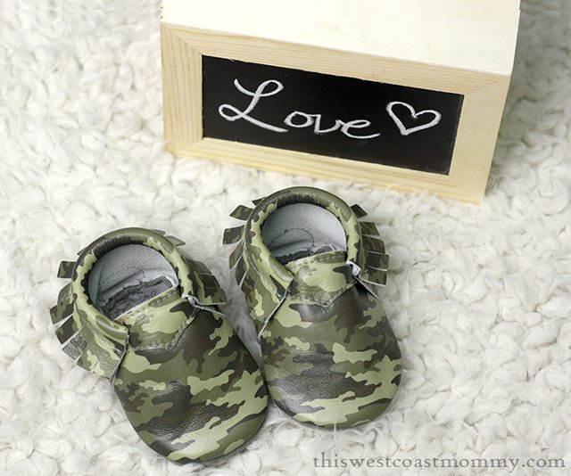 We love our handmade leather Chérubin moccasins! Safe, stylish, and perfect for tender baby feet.