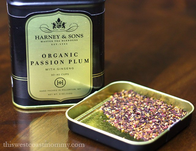 organic passion plum herbal infusion