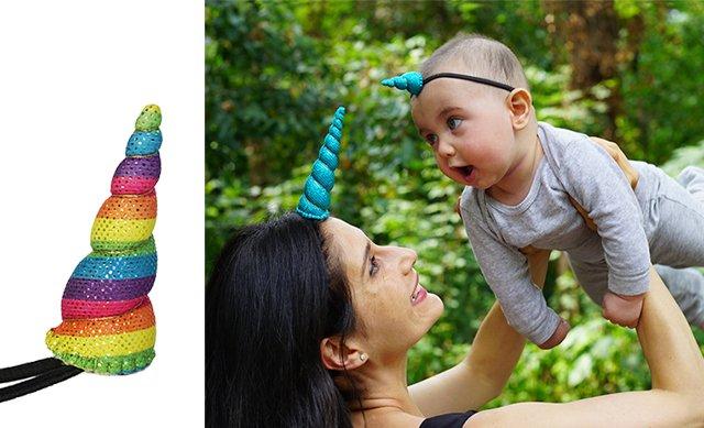 Rainbow Unicorn Horns