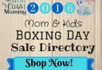 Boxing Week 2016 Cloth Diaper & Babywearing Sales