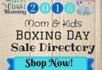 Boxing Week 2016 Cloth Diaper & Babywearing Sales