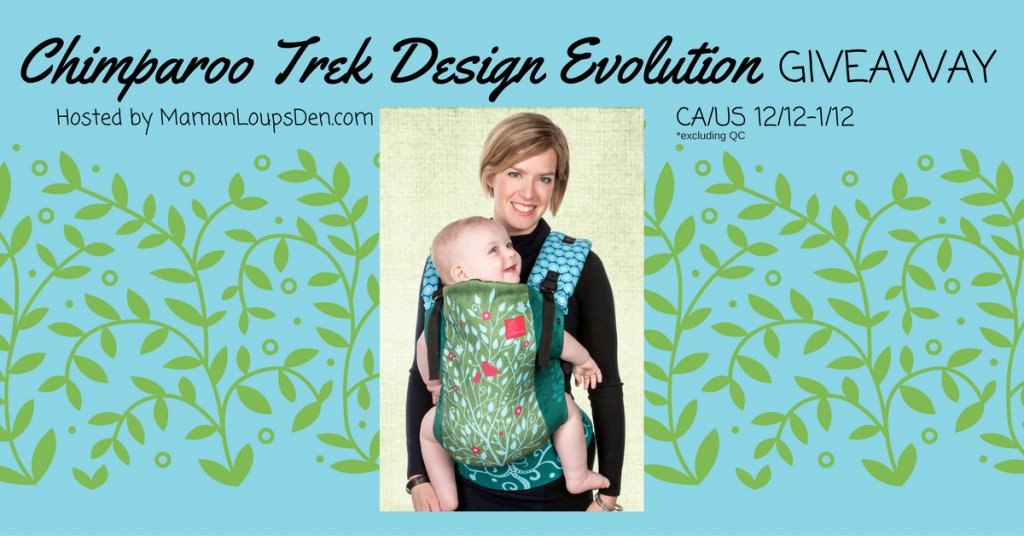 Win a Chimparoo Trek Design Evolution