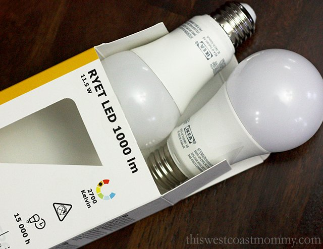 LED bulbs for the home