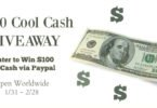 Win $100 in the Cool Cash Giveaway {Closed}