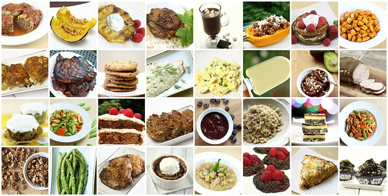 More paleo and gluten-free recipes