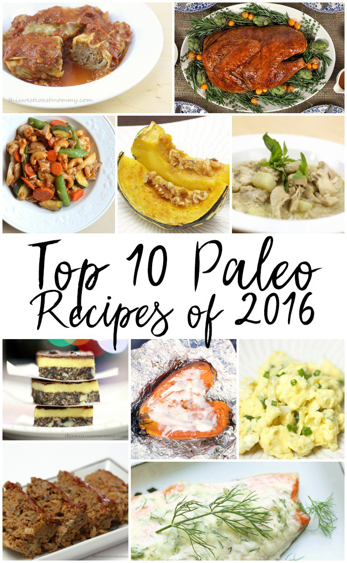 Check out my top 10 paleo, gluten-free recipes of the year and see what inspires you!