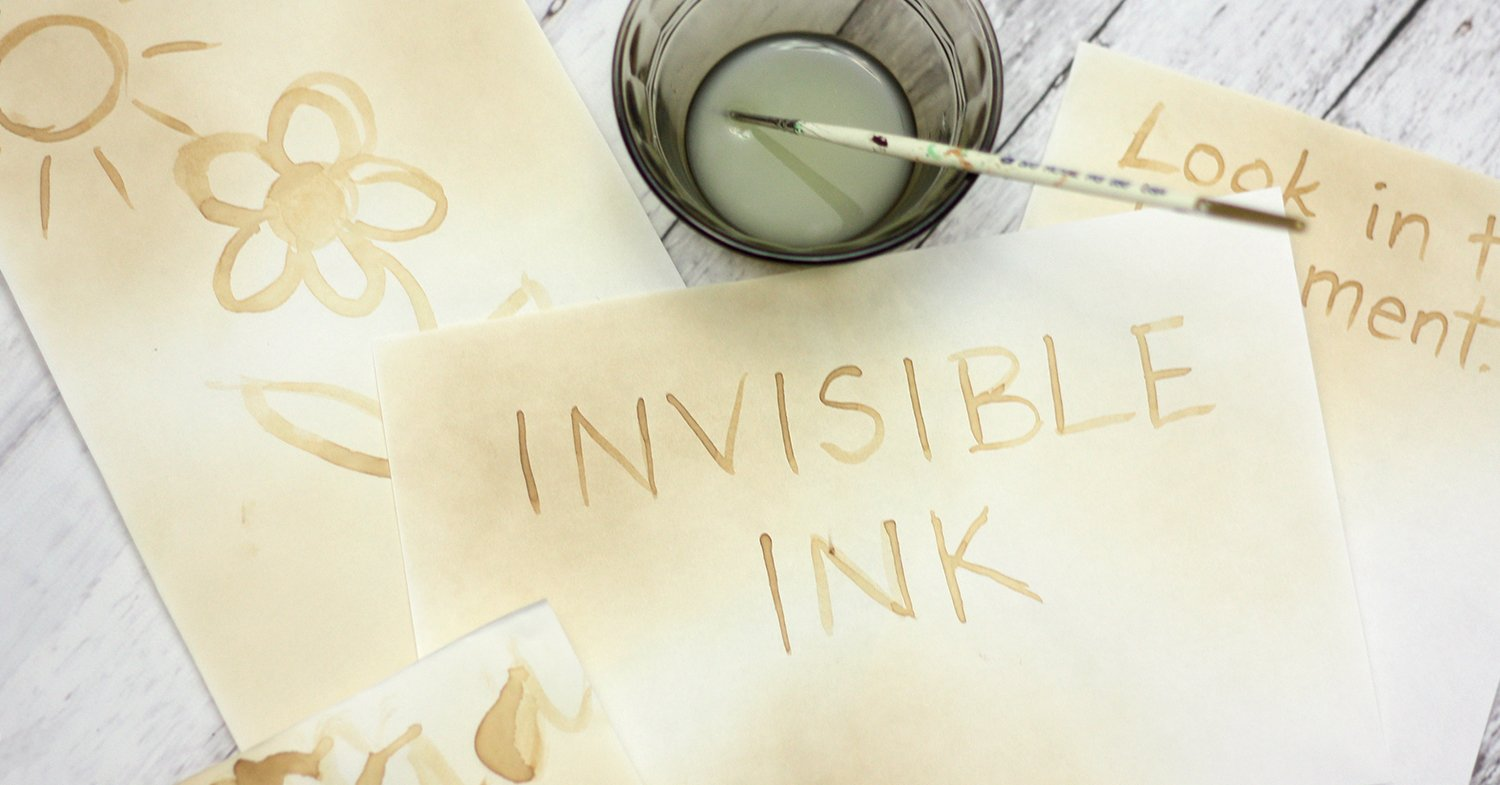 How To Send Secret Messages With Invisible Ink And Oxidation