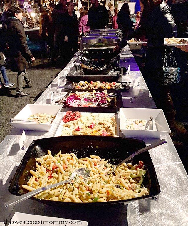 VIP Buffet dinner at Cavalia Odysseo