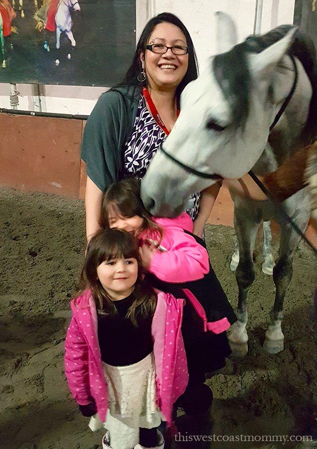Horse kisses at Cavalia Odysseo