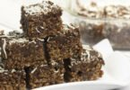 Chocolate Almond Butter Rice Krispies Squares