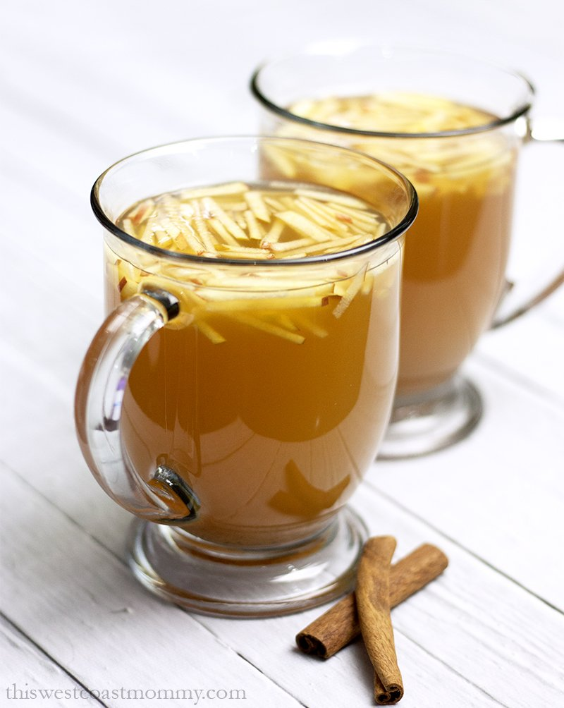 how to make spiced cider from apple juice