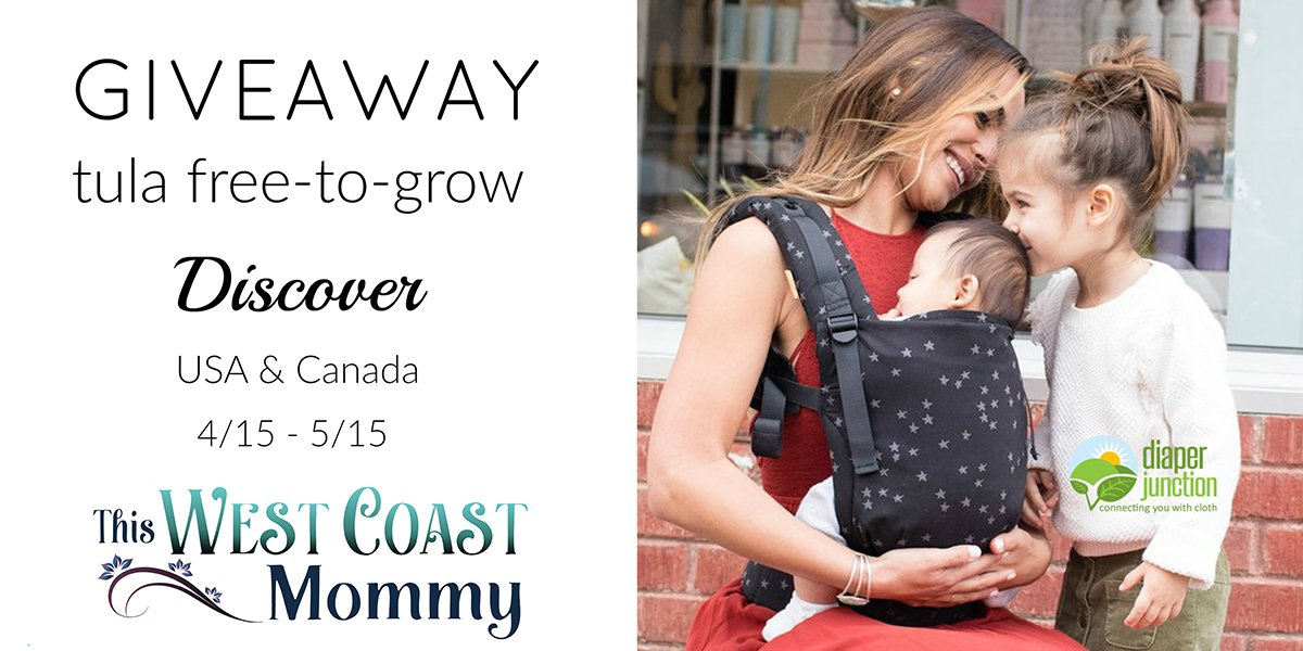 Win A Tula FreetoGrow Baby Carrier Closed This West Coast Mommy - Usa width coast to coast