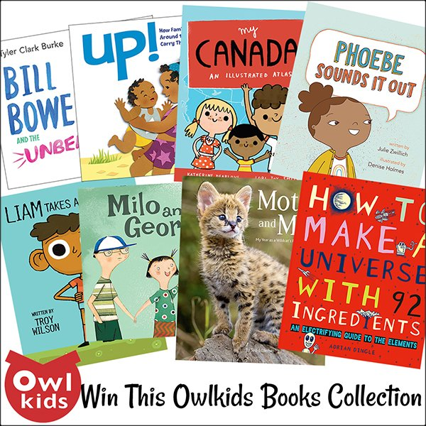 Owlkids Spring Book Collection (US/CAN, 5/30)