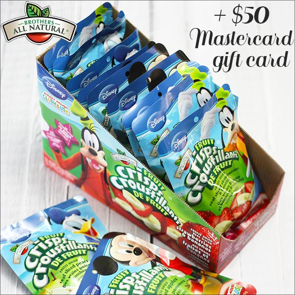 Brothers All Natural Fruit Crisps & $50 Mastercard (US/CAN, 6/4)