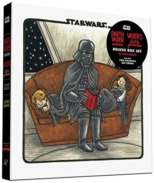 Darth Vader & Son / Vader's Little Princess Deluxe Box Set by Jeffrey Brown