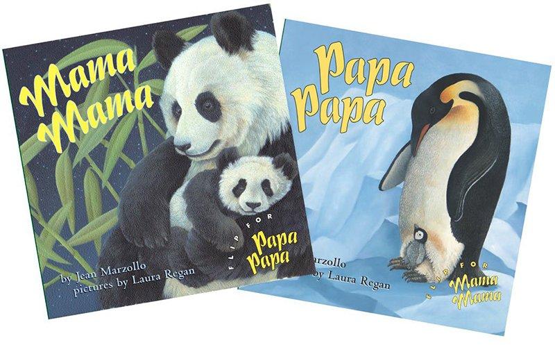 Mama Mama / Papa Papa by Jean Marzollo & Laura Regan