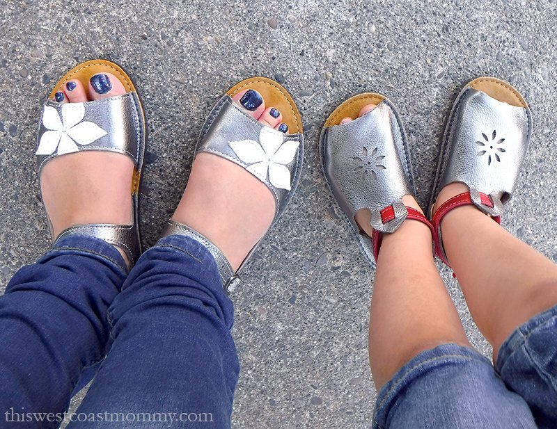 Softstar Sandals For Mom And Daughter This West Coast Mommy