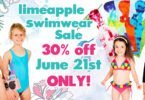 Limeapple One Day Swimwear Sale June 21