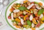 Grilled Turkey Panzanella Salad and How to #BBQwithTurkey