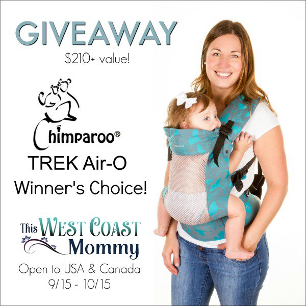 Chimparoo TREK Air-O Baby Carrier (US/CAN, 10/15)