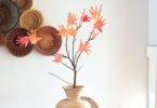 Fall Craft: Make a Handprint Tree