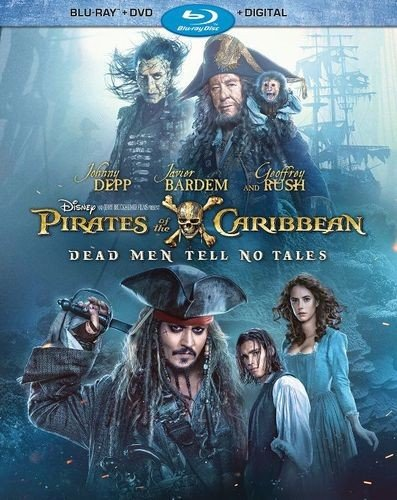 Pirates of the Caribbean: Dead Men Tell No Tales Blu-ray (CAN, 10/27)