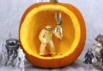 Halloween Pumpkin #StarWars Diorama Project