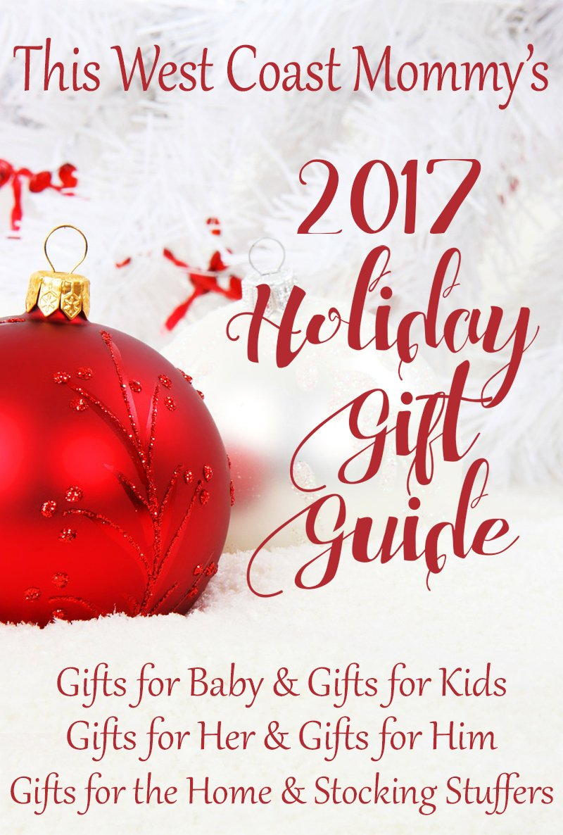 Visit This West Coast Mommy's Holiday Gift Guide for fun, practical, and eco-friendly gifts for the entire family!