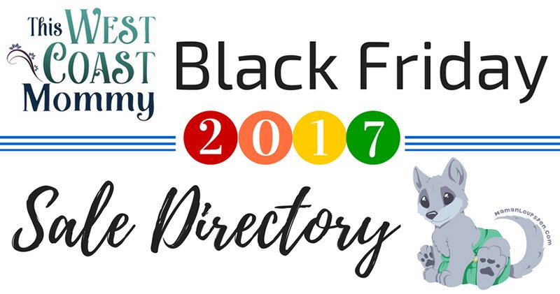 Black Friday 2017 Sales Directory - Here's where you'll find all the best deals on cloth diapers, baby carriers, mom & baby gear, and more!