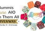 Win 10 Bummis Pure AIO Cloth Diapers