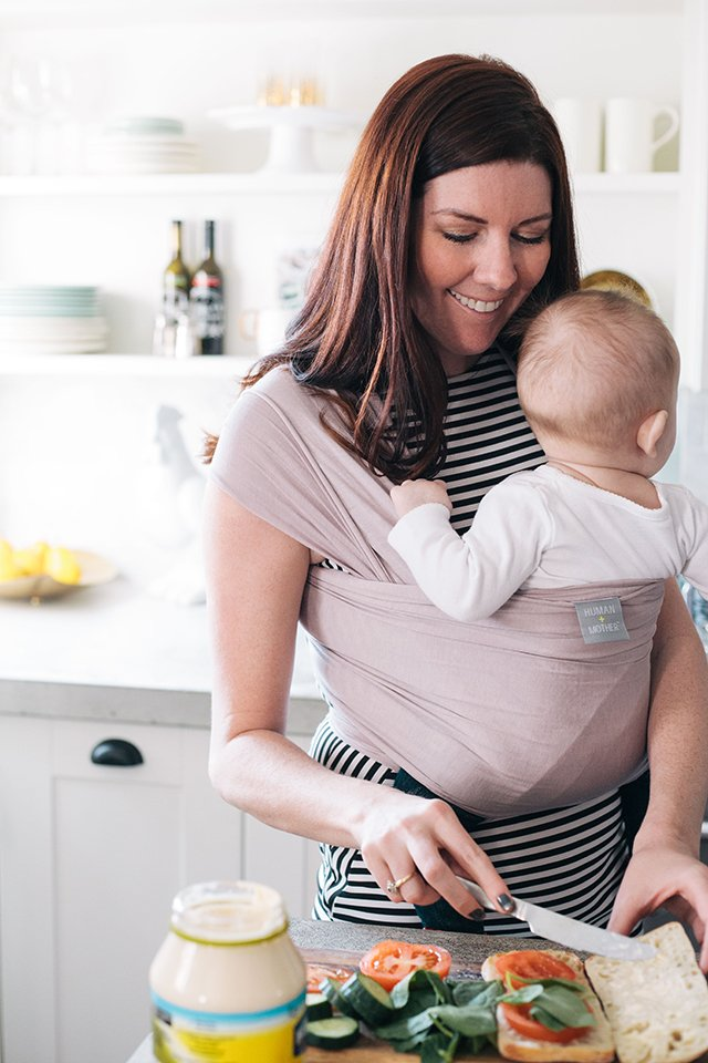 Give Back With A Human Mother Baby Wrap This West Coast Mommy