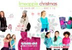 Limeapple's 12 Days of Christmas Deals {Win a Mermaid Tail Blanket!}