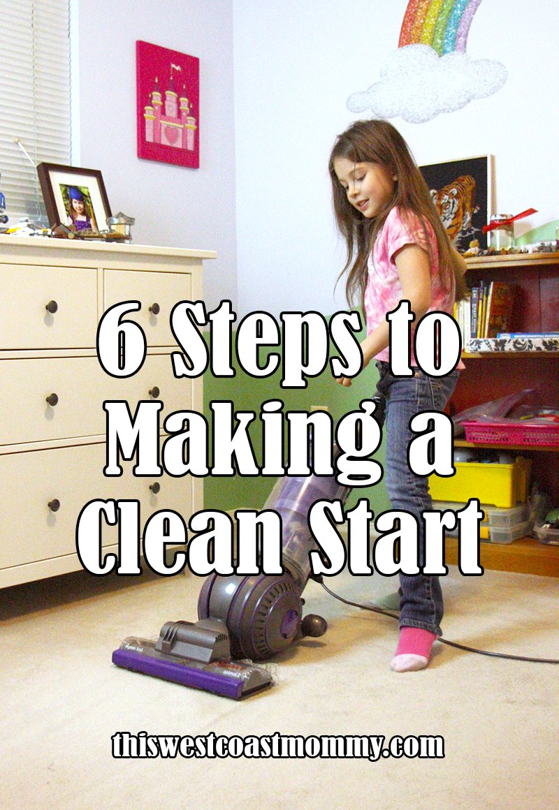 6 steps to making a clean start in the new year #DysonClean #ad