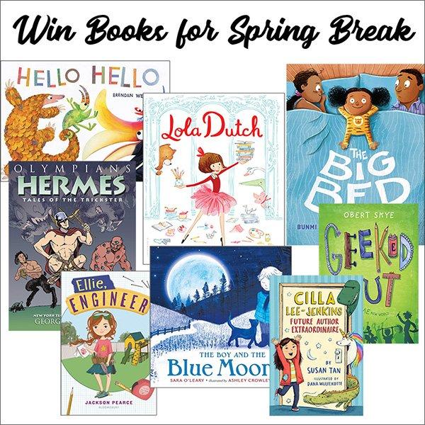2 Books for Spring Break (CAN, 3/31)