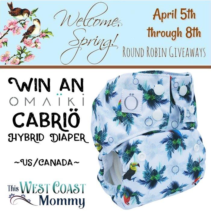 Omaiki Cabrio Cloth Diaper (US/CAN, 4/8)