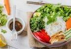 Vietnamese Chicken Noodle Salad (Gluten-Free)