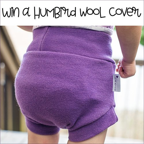 HumBird Wool Diaper Cover (US/CAN, 6/30)