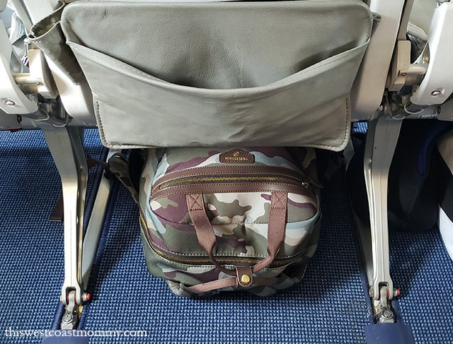 f52837ea63c2d7 Once we arrived at our resort, the versatile TWELVElittle Courage Backpack  worked really well as a water-resistant beach bag for trips down to the  surf and ...