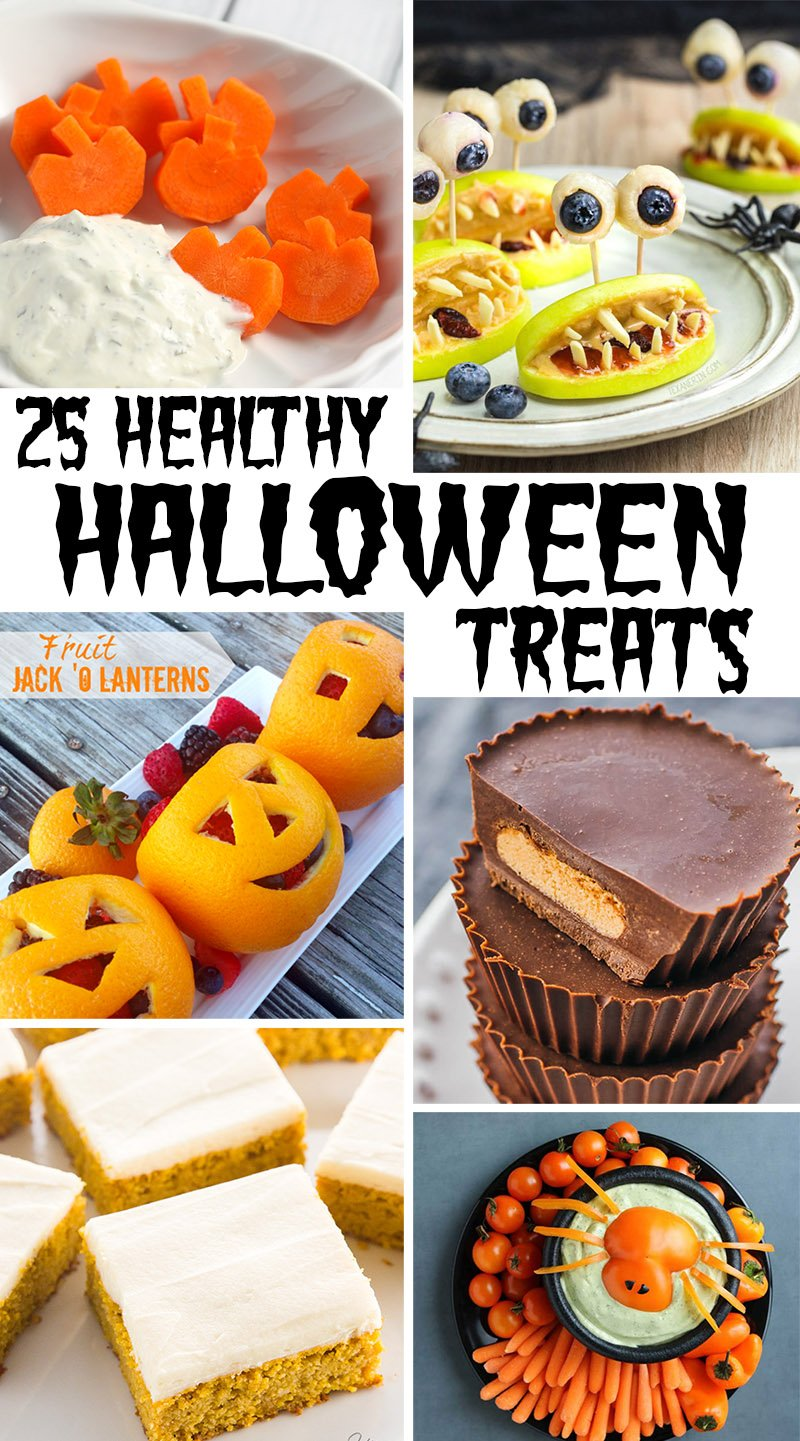 25 healthy halloween treats that kids will flip for | this west