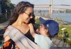 Babywearing On the Go with the We Made Me Smile 5-in-1 Sling