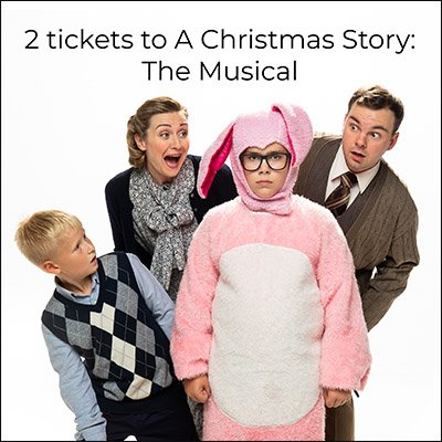 Win 2 tickets to A Christmas Story: The Musical (Vancouver, 10/28)