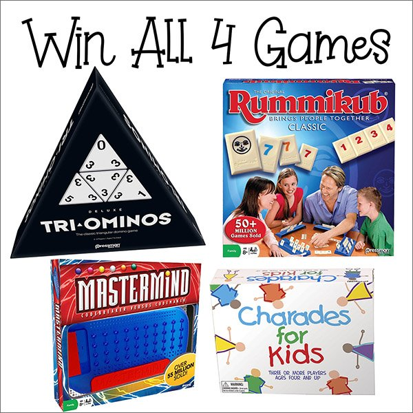 Win 4 family games (US/CAN, 10/20)