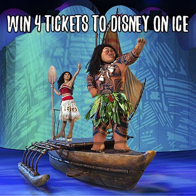 Win 4 tickets to Disney On Ice Dare to Dream (Vancouver, 10/26)