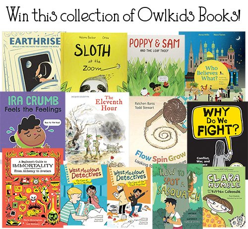 Win Mini Library from Owlkids Books (CAN/US, 12/11)