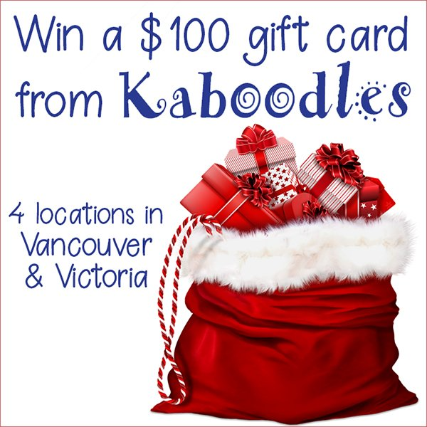 Win an $100 gift card to Kaboodles Toy Store (Vancouver/Victoria, 12/19)