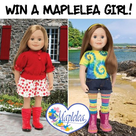 Win a Maplelea Girl Doll (CAN, 12/18)