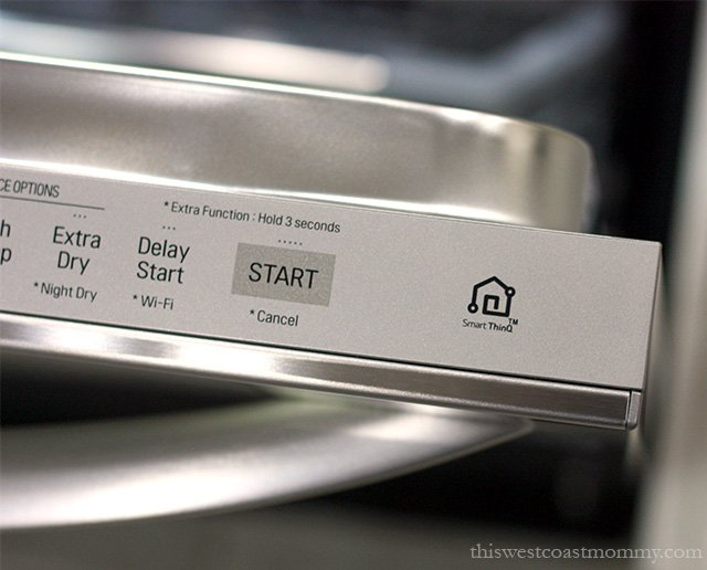 Our LG QuadWash® Steam Dishwasher Cleans, Steams, and Saves